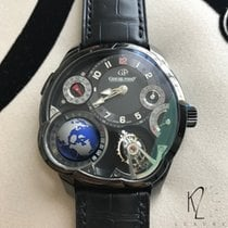 Greubel Forsey GF05 GMT Tourbillon GLOBE - Ltd Ed Black Tita