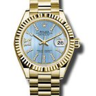 Rolex 18KT Yellow Gold Lady Date Just
