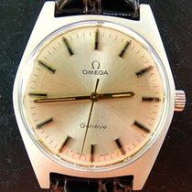Omega GENEVE 135041 Vintage Herren Armbanduhr 1968 NOS Ungetragen