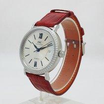 IWC IW458109 Portofino Midsize Automatic Steel & Diamonds...