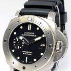 Panerai Luminor Submersible 305 Dive Watch Titanium Box/Papers...