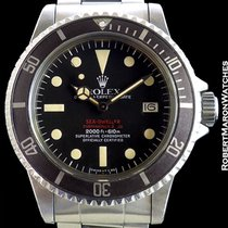 Rolex 1665 Tropical Double Red Sea-dweller Unpolished Steel...
