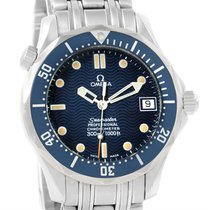 Omega Seamaster James Bond 300m Midsize Blue Dial Watch...
