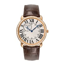 Cartier Ronde Manual Mens Watch Ref WR007001