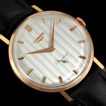 Longines 1963 Flagship Mens Vintage Watch, Extra Large - 18K...