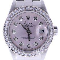 Rolex Datejust 79160 26 Mm Pink Diamond Dial Bezel