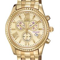 Citizen Chronograph Champagne Dial Gold-Tone Stainless Steel...