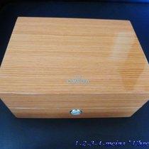 Omega Luxus Holz Uhrenbox  Ledermappe & Lederbeutel  neu...