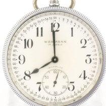 Wakmann Wakmass Railroad pocket watch, Art Deco, 1940s