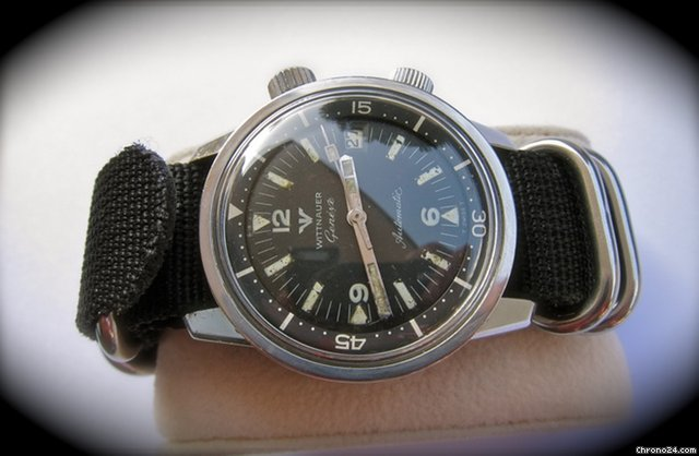 Wittnauer Longines Diver Compressor Date1960