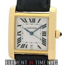 Cartier Tank Collection Tank Francaise 18k Yellow Gold 28mm