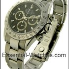 Rolex Used Steel Daytona with Black Dial Zenith Movement