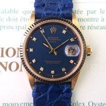 Rolex Date Ref. 15238 18K Gold with Diamonds