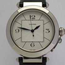 """Cartier """"Pasha XL Automatic"""" 18K white gold 42mm. case"""
