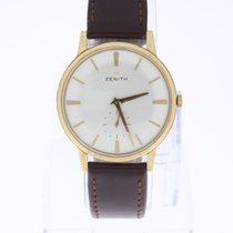 Zenith Automatic Vintage Watch 18K Gold manual wind