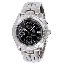 TAG Heuer Link Steel Chronograph Chronometer Automatic Watch...