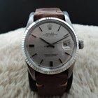 Rolex DATEJUST 1601 SS ORIGINAL Silver Linen Dial