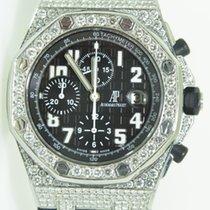Audemars Piguet Royal Oak offshore,Chrono,Aftermarket diamonds...