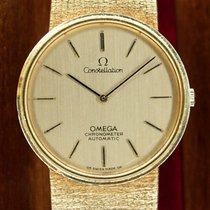 Omega Constellation Chronometer 18k Gold Vintage OM Dial B&P