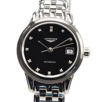 Longines Flagship Stainless Steel Black Automatic L4.274.4.57.6