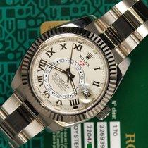 Rolex SKY-DWELLER 326939 full white gold B/P 2013