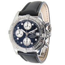 Breitling Chrono Cockpit A13357 Mens Watch in Stainless Steel