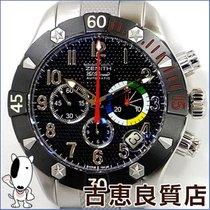 Zenith 【中古】【極美品】ZENITH ゼニスデファイクラシック クロノエアロ エル・プリメロ メンズ 腕時計...