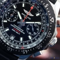 Breitling Men's Professional Skyracer Raven Black Steel on...