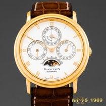 Blancpain Villeret 18K Gold Perpetual Calendar Moonphase Box