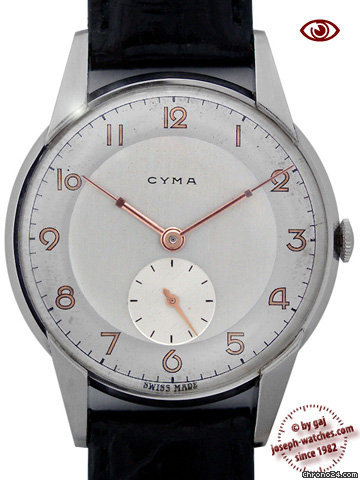 Cyma Mans Wristwatch