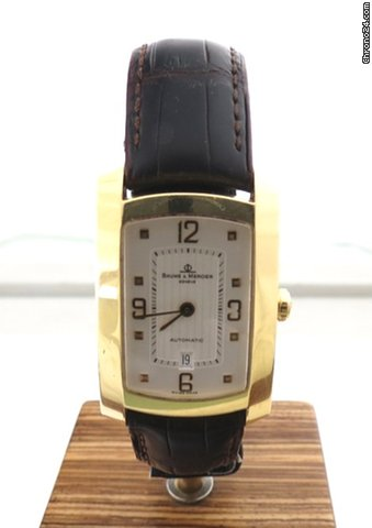 Baume & Mercier HAMPTON 18 ct GOLD AUTOMATIC CLASSIC MILLEIS