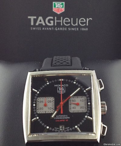 TAG Heuer Monaco Automatic Chronograph Calibre 12