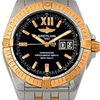 Breitling Cockpit Big Date Steel 18k Rose Gold C49350 Watch