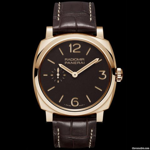 Panerai Pam 513 Radiomir 1940 Oro Rosso 18kt Rose Gold 42mm Historic