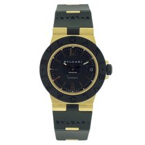 Bulgari Diagono Ladies Aluminum Yellow Gold