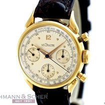Jaeger-LeCoultre Vintage Gentleman´s Chronograph 18k Yellow...