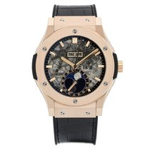 Hublot Classic Fusion Aerofusion Moonphase King Gold 45mm
