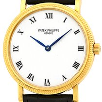 "Patek Philippe Gent's 18K Yellow Gold  Ref # 3992 ""Cal..."