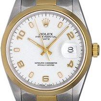 Rolex Date Men's 2-Tone Watch 15203
