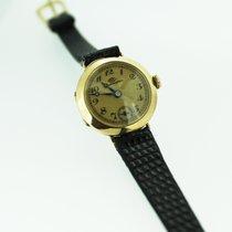 IWC feine Damenuhr 585 Gelbgold 14Kt neuwertig Vintage 1920er