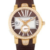 Ulysse Nardin Executive Dual Time Ladies 40mm 246-10B/30-05
