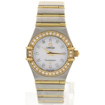 Omega Ladies Omega Constellation 18K YG & S/S &...