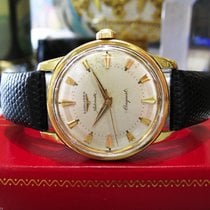 Longines Conquest Automatic 18k Solid Yellow Gold Swiss Watch
