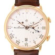 Blancpain Villeret 18k Rose Gold White Automatic 6640-3642-55B