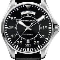 Hamilton Khaki Pilot Automatikuhr Day Date H64615155