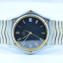 Ebel Classique Wave Herren Uhr 37mm Stahl/750 Gold Klassische...