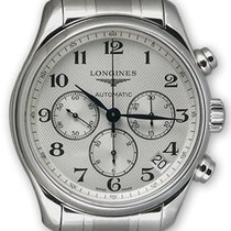 Longines Master Collection Chronograph Steel Automatic Mens...