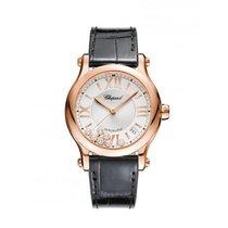 Chopard Ladies 274808-5001 Happy Sport 36 mm Auto Watch