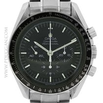 Omega stainless steel Speedmaster Moonwatch