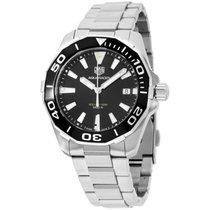 TAG Heuer Aquaracer Black Dial Stainless Steel Men's Watch...